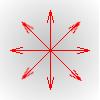 Exemple avec la fonction radial-gradient()