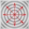 Gradient radial répété avec la fonction radial-repeating-gradient()